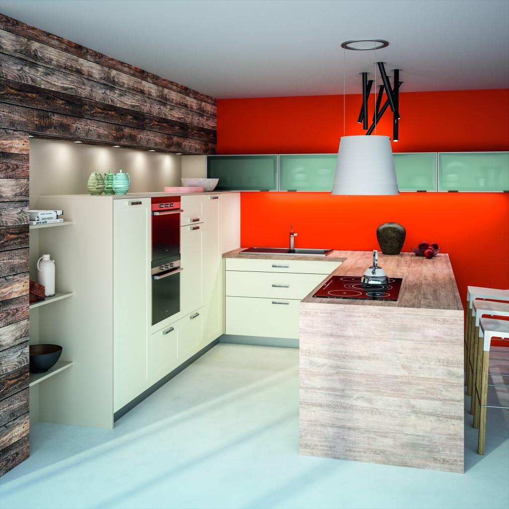 r novation cuisine chamb ry cuisine contemporaine cuisine vivet. Black Bedroom Furniture Sets. Home Design Ideas