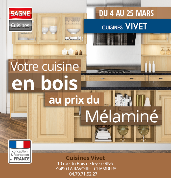 votre cuisine en bois au prix du m lamin cuisine vivet. Black Bedroom Furniture Sets. Home Design Ideas