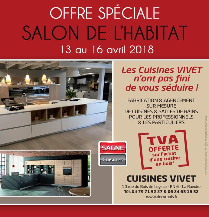Offre sp ciale salon de l 39 habitat 2018 cuisine vivet - Salon de l habitat chambery ...